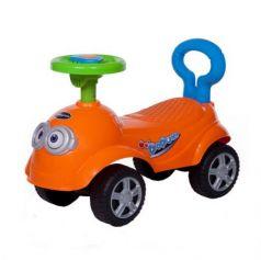 Каталка-машинка Baby Care QT Racer пластик от 1 года на колесах оранжевый 600