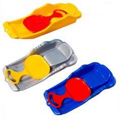 Санки Пластик Для всей семьи до 50 кг пластик разноцветный С 308