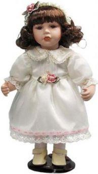 """Кукла фарфор 12"""" """"Пушинка"""""""