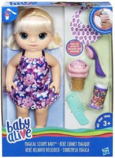Кукла BABY ALIVE Малышка с мороженным