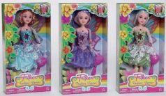 Кукла Фея с крылышками и аксессуарами, 3 вида, в ассорт.
