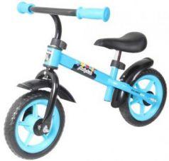 "Беговел двухколёсный Moby Kids KidFun 10 10"" синий 641163"