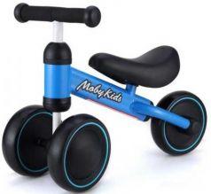 Беговел трехколёсный Moby Kids KidBike синий 641160