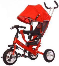 """Велосипед трехколёсный Moby Kids Start 10x8 EVA 10""""/8"""" красный 641044"""
