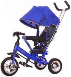 """Велосипед трехколёсный Moby Kids Start 10x8 EVA 10""""/8"""" синий 641045"""