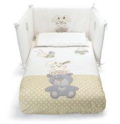 Сменное постельное белье 3 предмета Pali Celine (белый)