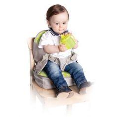 Стульчик-сумка для кормления и путешествий высокий с сидушкой и пеленальной площадкой, от 6 месяцев