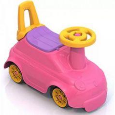 Каталка-беговел четырёхколёсный Нордпласт Крутышка розовый 431004-1