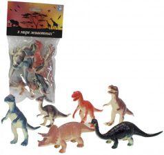 """Набор фигурок 1Toy """"В мире животных"""" - Динозавры 10 см"""