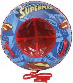 """Тюбинг 1toy """"Супермен"""" до 100 кг ПВХ разноцветный"""