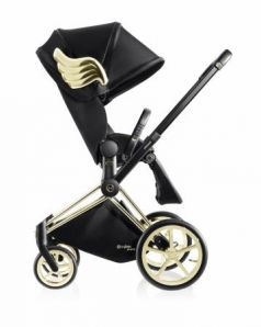 Коляска прогулочная Cybex Priam (by JS/wings black)