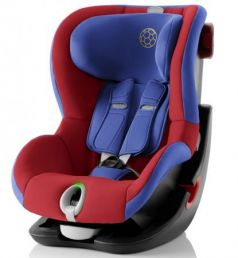 Автокресло Britax Romer King II LS Black Series (football edition highline)