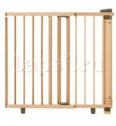 Ворота безопасности дверные 86-121х93,5-133см Geuther (натуральный)