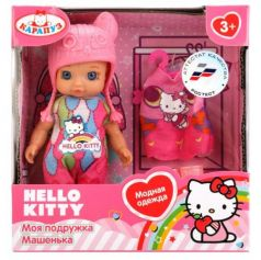 Кукла КАРАПУЗ Кукла Hello Kitty 12 см YL1701A-RU-HK (60)