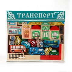 "КОНСТРУКТОР ""ТРАНСПОРТ"" в кор.12шт"