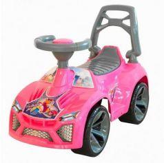 Каталка-машинка RT Ламбо пластик от 10 месяцев на колесах розовый ОР021