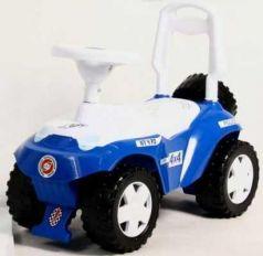 Каталка-машинка RT Ориоша пластик от 10 месяцев на колесах синий