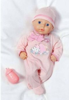 my first Baby Annabell с бутылочкой