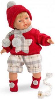 Кукла Саша 38 см со звуком
