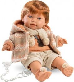 Кукла Кристиан 42 см  со звуком