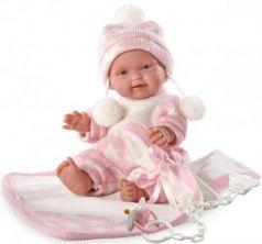 Кукла  Роза 26 см с одеялом