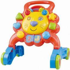 Ходунки Playgo Лев пластик от 1 года на колесах разноцветный Play 2254