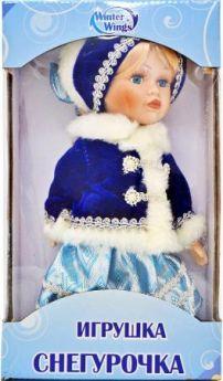 {1} кукла Winter Wings Игрушка СНЕГУРОЧКА, 20 см. пластик, полиэстр|2 20 см полиэстер пластик