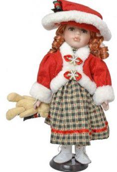 {1} кукла Winter Wings Игрушка СНЕГУРОЧКА, 30 см. пластик, полиэстр|2 30 см пластик полиэстер