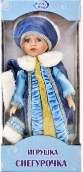 {1} кукла Winter Wings Игрушка СНЕГУРОЧКА, 30 см. пластик, полиэстр|4 30 см пластик полиэстер