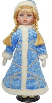 {1} кукла Winter Wings Игрушка СНЕГУРОЧКА, 40 см. пластик, полиэстр|5 40 см пластик полиэстер