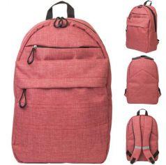 Рюкзак ACTION городской, размер 41x28x14.5 см, мягкая спинка, красный, унисекс