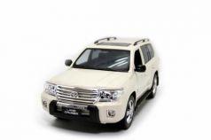 Машинка на радиоуправлении Balbi Toyota land cruiser 1:14 бежевый от 3 лет пластик, металл HQ20135