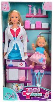 Набор STEFFI 5730934 Детский доктор (2 куклы)