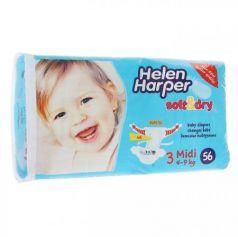 Подгузники Helen Harper Soft Dry midi (4-9 кг) 56 шт.