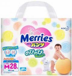 Трусики Merries M (6-10 кг) 28 шт