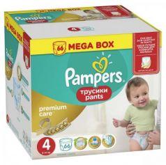 Трусики Pampers Premium Care Pants 4 (8-14 кг) 66 шт
