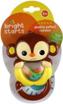 "Погремушка Bright Starts ""Сафари"" обезьянка"