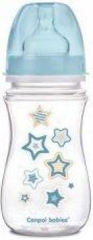 Бутылочка Canpol EasyStart Newborn baby PP, шир. горл., антикол., 240 мл, 3+, арт. 35/217, голубой