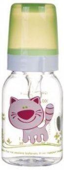 Бутылочка Canpol Cheerful animals трит., сил. соска, 120 мл, 3+, арт. 11/851prz, котёнок