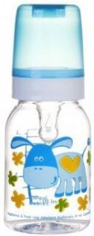 Бутылочка Canpol Cheerful animals трит., сил. соска, 120 мл, 3+, арт. 11/851prz, ослик