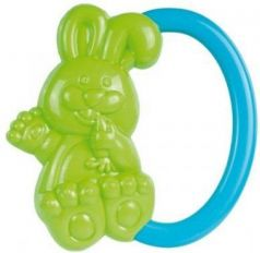 Погремушка Canpol Кролик, 0+ мес., арт. 2/188 цвет зеленый