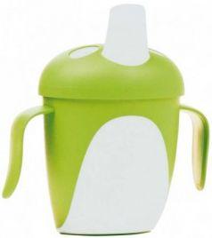 Кружка Canpol Penguins 1 шт от 9 месяцев зеленый 76/001