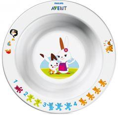 Глубокая тарелка Avent 230 мл, 6+, арт. 65630