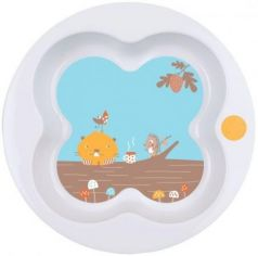 Тарелка Bebe Confort Woodcamp 1 шт от 1 года белый 3105204800