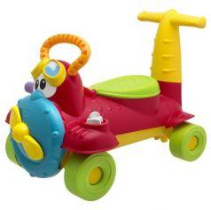 "Каталка-машинка Chicco Sky-Rider ""ЧАРЛИ"" пластик от 18 месяцев на колесах красный"