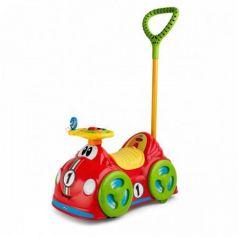 Каталка-машинка Chicco All Around Delux пластик от 18 месяцев с ручкой красный
