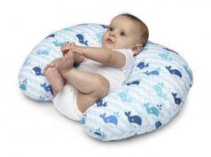 Подушка для кормления Chicco Boppy Blue Whales