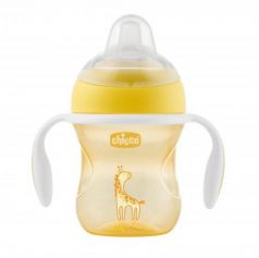 Кружка Chicco Transition Cup 1 шт от 4 месяцев желтый 00006911300050