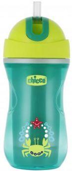 Кружка Chicco Sport Cup 1 шт от 1 года зеленый 340624235