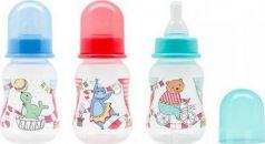"""Бутылочка для кормления с молочной соской """"Just LUBBY"""",от 0 мес.,125мл.,полипропиле"""